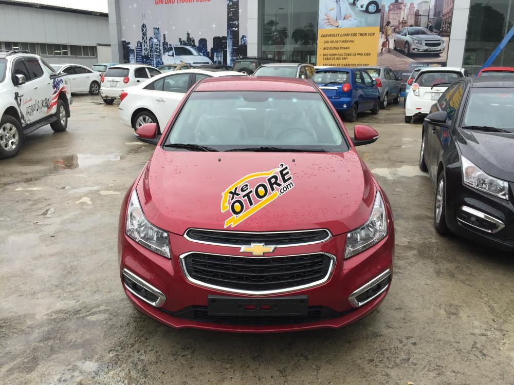Chevrolet Cruze LT model 2017 giá tốt nhất thị trường, đủ màu giao xe ngay