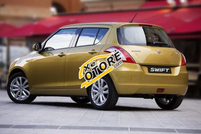 Bán xe Suzuki Swift đời 2015, màu nâu trắng, giá chỉ 520 triệu