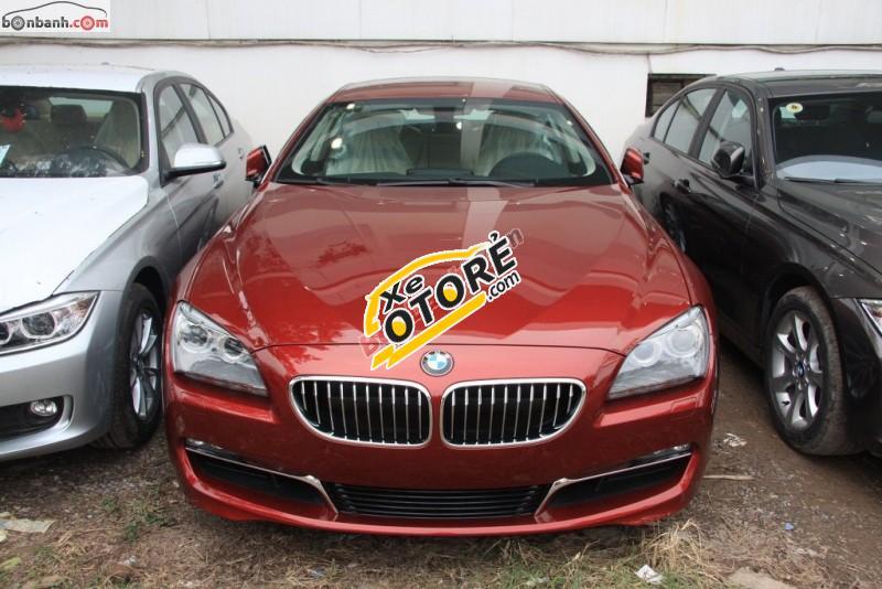 Bán xe BMW 6 Series 640i Gran sản xuất 2015, màu đỏ, nhập khẩu