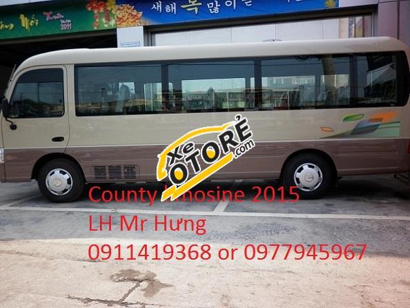 Bán xe County 29 chỗ Limousine 2015