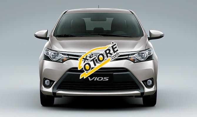 Bán ô tô Toyota Vios 1.5 E phiên bản mới