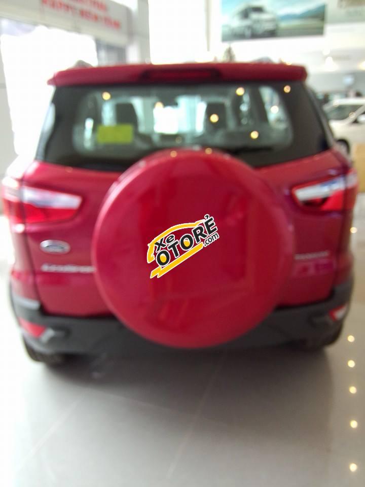 Bán xe Ford EcoSport Titanium sản xuất 2016, màu đỏ, giá 630tr
