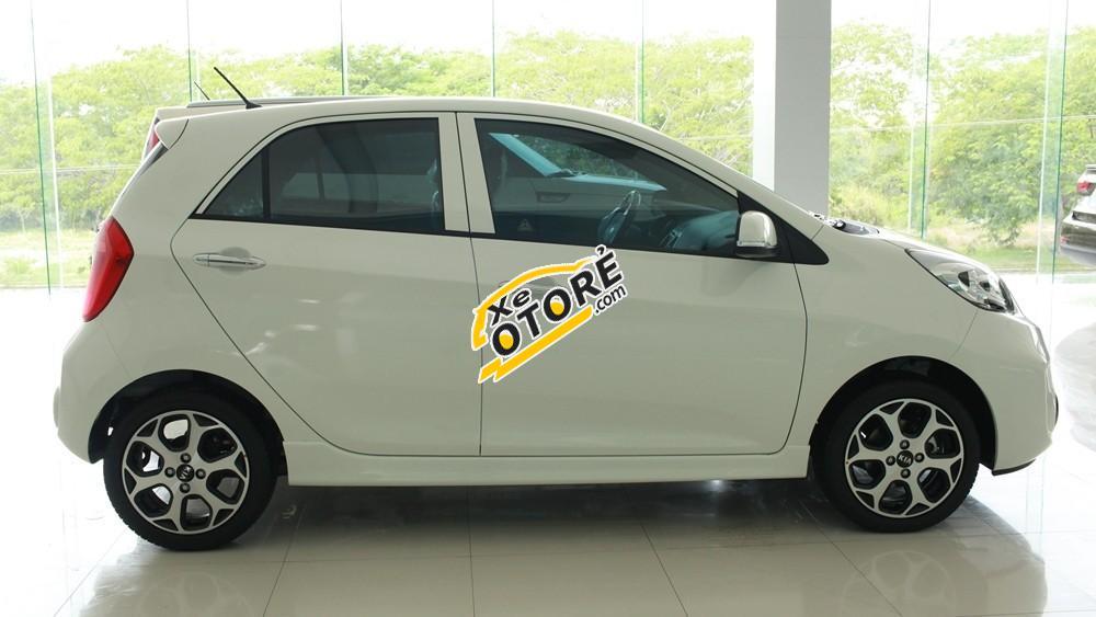 Cần bán xe Kia Morning Si đời 2016, màu trắng
