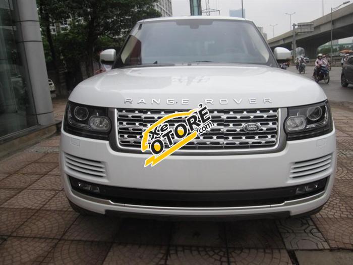 Cần bán xe LandRover Range Rover đời 2018, màu trắng, xe nhập