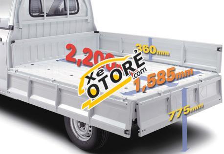 Bán xe ô tô tải Suzuki 7 tạ Super Carry Pro sản xuất 2016, thùng siêu bền đẹp giá siêu tốt