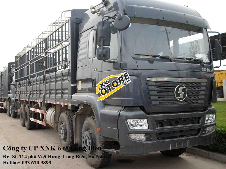 Xe tải thùng 4 chân, 5 chân shacman tải trọng 17-22 tấn tại Long Biên, Hà Nội 2015
