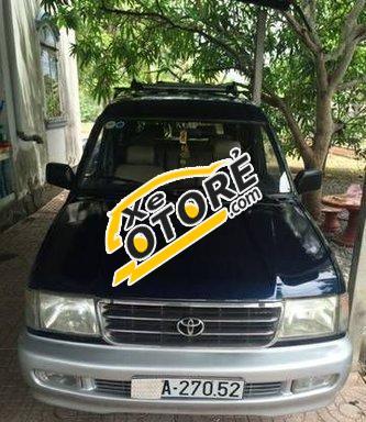 Chính chủ cần bán xe Toyota Zace MT đời 2001, màu đen số sàn
