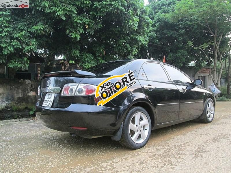 Bán xe Mazda 6 sản xuất 2003, màu đen, 295tr