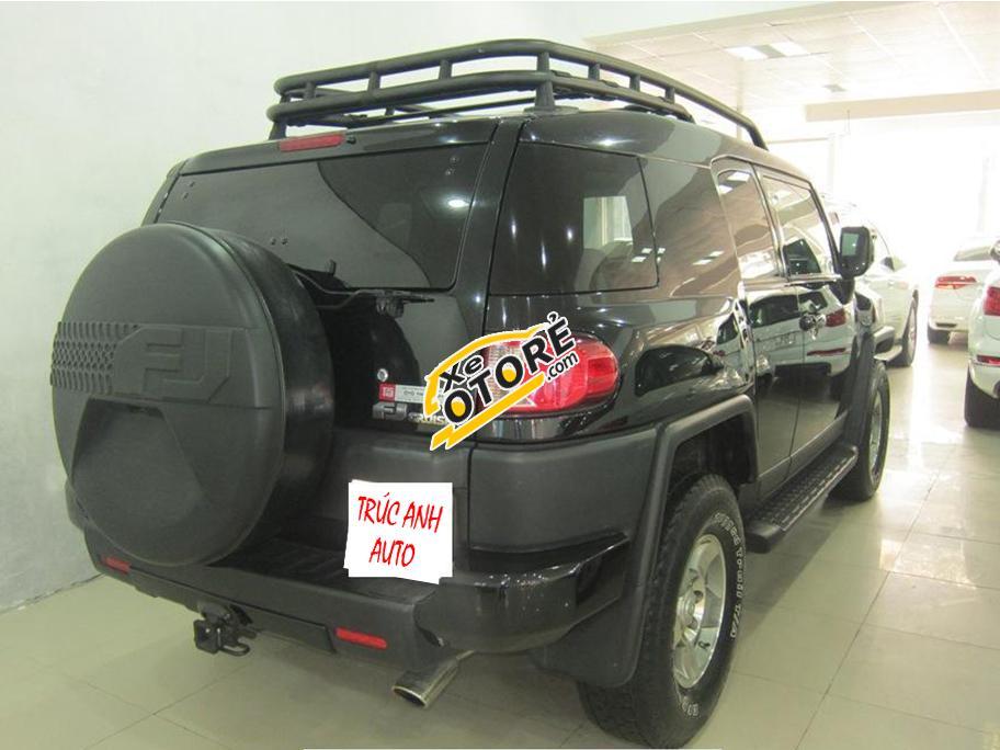 Trúc Anh Auto bán xe Toyota Fj Cruiser đời 2011, màu đen, nhập khẩu
