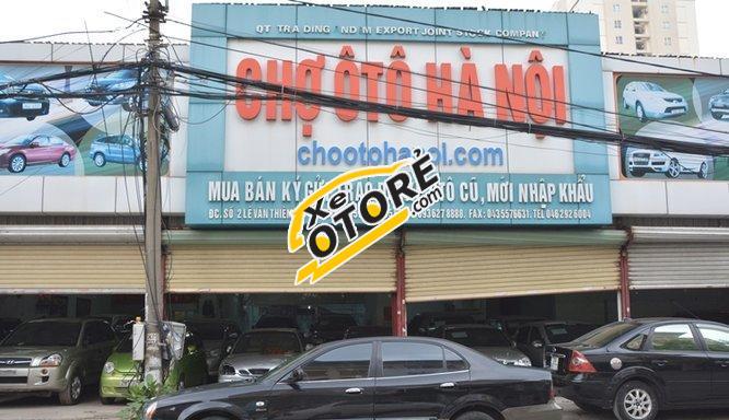 Chợ Ô Tô Hà Nội bán Daewoo Magnus 2.5AT đời 2004, màu đen chính chủ