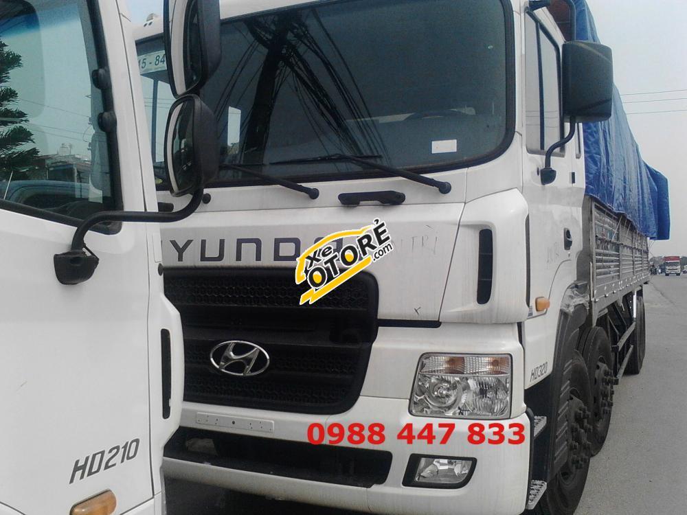 Bán xe Hyundai HD320 19 tấn 4 chân đời 2016, nhập khẩu chính hãng