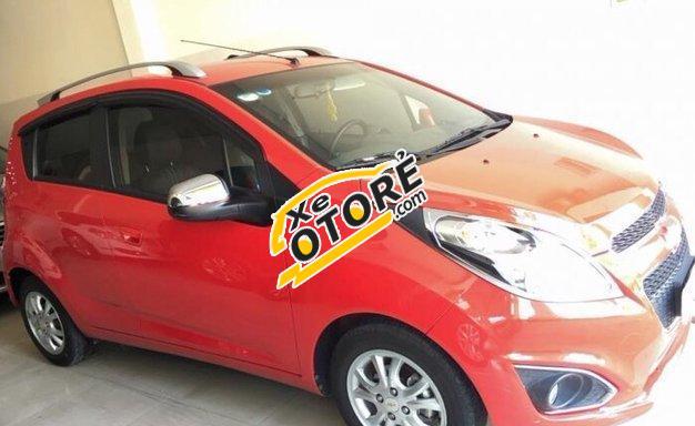 Bán xe Chevrolet Spark LS đời 2013, màu đỏ