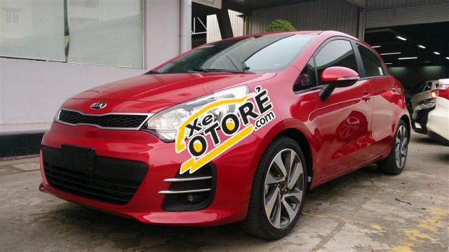Cần bán Kia Rio 5DR 1.4 AT đời 2016, màu đỏ, nhập khẩu