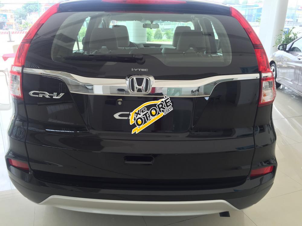 Cần bán Honda CR V 2.0AT đời 2017, màu đen, giá giảm cực sốc 100Tr, NH 90% Ls 0.6%