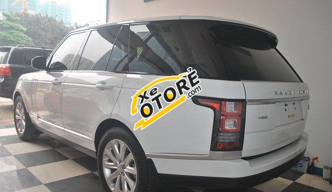 Auto bán LandRover Range Rover HSE AT đời 2016, màu trắng, nhập khẩu nguyên chiếc