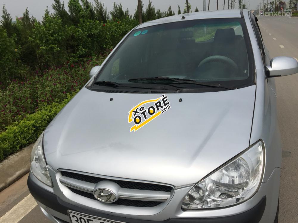 Cần bán gấp Hyundai Getz đời 2008 màu bạc, giá chỉ 225 triệu