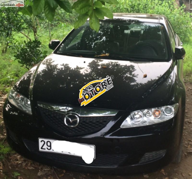 Cần bán lại xe Mazda 6 đời 2004, màu đen như mới, giá tốt