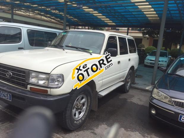 Cần bán lại xe Toyota Land Cruiser đời 1997, màu trắng, giá rẻ