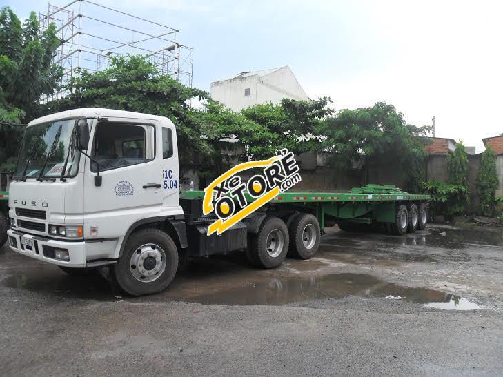 Bán xe đầu kéo Sơ mi rơ mooc sàn Doosung (chở container) 40 Feet, 3 trục giao xe toàn quốc trả góp