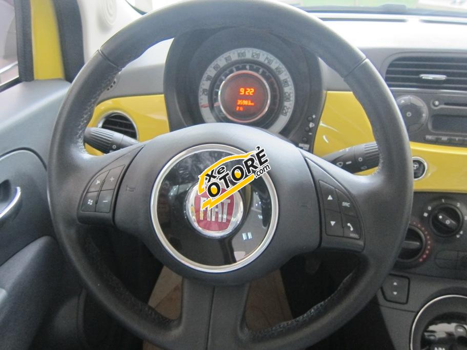 Trúc Anh Auto bán ô tô Fiat 500 năm 2009, ĐK 2011, màu vàng, xe nhập