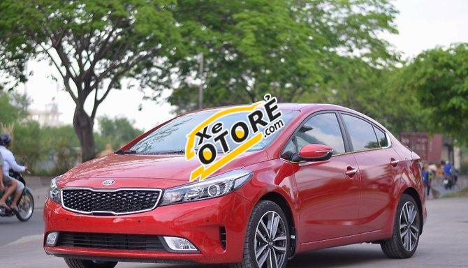 Kia Phú Mỹ Hưng bán Kia Cerato đời 2016, màu đỏ, giá chỉ 636 triệu