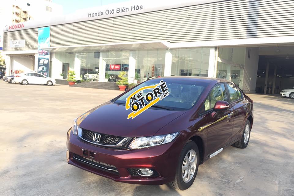 Sở hữu Honda Civic 2016 để được giá tốt nhất, khuyến mãi lớn, giảm giá sốc tại Biên Hoà
