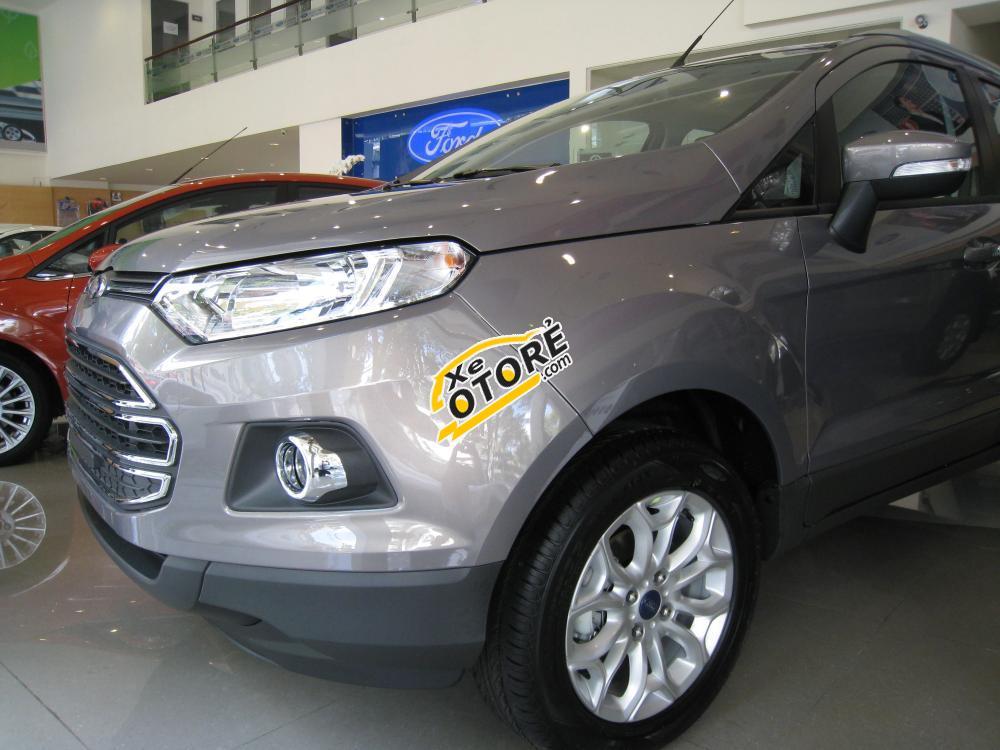 Sài Gòn Ford Trần Hưng Đạo xã hàng xe Ford EcoSport Titanium 2016, đủ màu, có xe giao ngay, bán xe trả góp, HCM