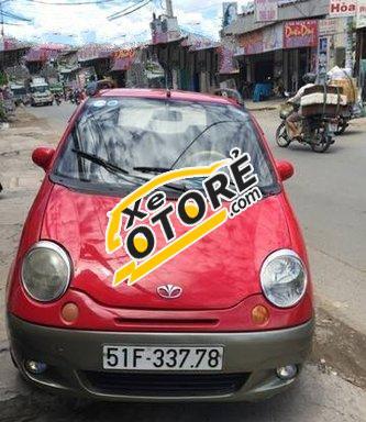 Em cần bán Daewoo Matiz MT đời 2006, màu đỏ số sàn, 133 triệu