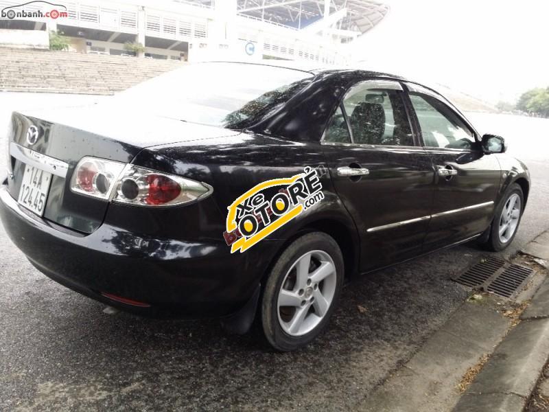Cần bán Mazda 6 2.0 đời 2003, màu đen