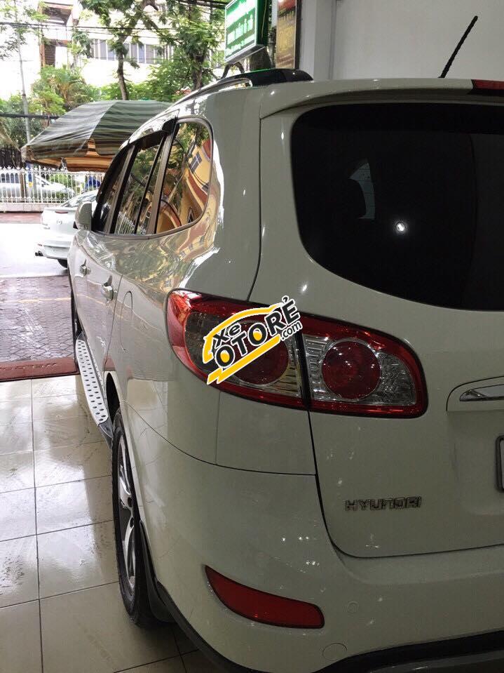 Bán Hyundai Santa Fe CRDi 2.2 năm 2011, màu trắng, nhập khẩu chính hãng, giá chỉ 890 triệu