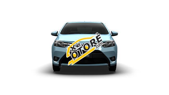 Cần bán xe Toyota Vios 1.5E năm 2016 mới, màu đen giá 540 triệu