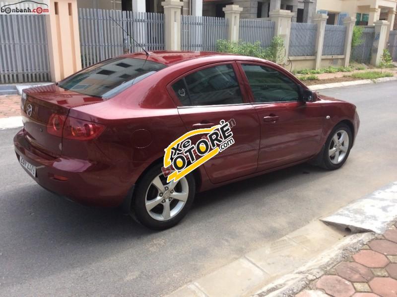 Bán xe Mazda 3 AT đời 2004, màu đỏ, xe nguyên bản 100% chất lương còn như mới