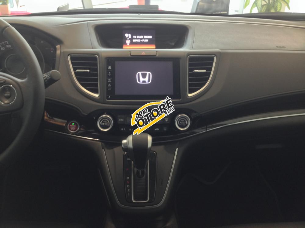 [Bình Định]Honda Nha Trang bán Honda CR-V 2.4TG 2016 màu trắng, giá tốt + khuyến mãi hỗ trợ giao xe tận nơi