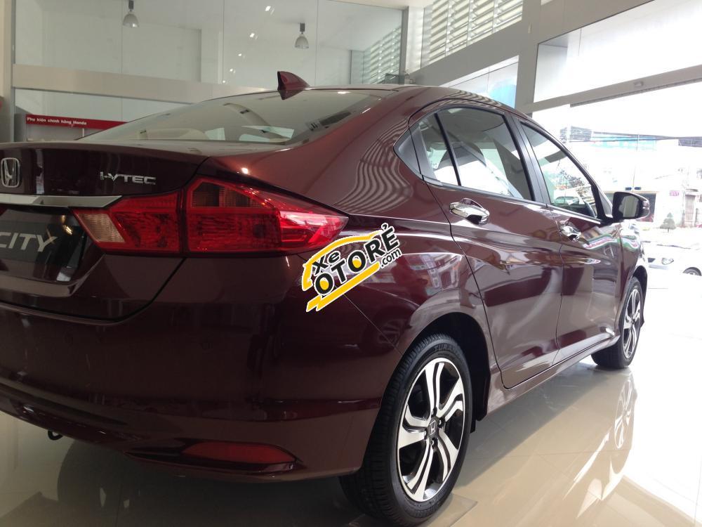 [Ninh Thuận] Cần bán xe Honda City CVT 2016 màu đỏ, khuyến mãi hấp dẫn, giao xe miễn phí tại Ninh Thuận