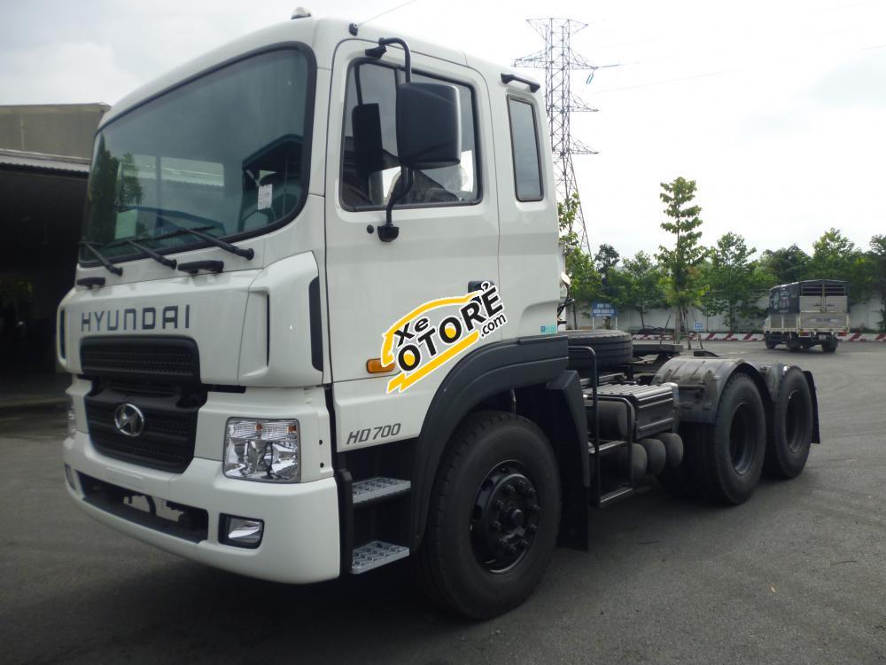 Đầu kéo Hyundai nhập khẩu chính hãng, đầu kéo Hyundai HD700 nhập khẩu chính hãng, giá rẻ- Hotline: 0981 032 808