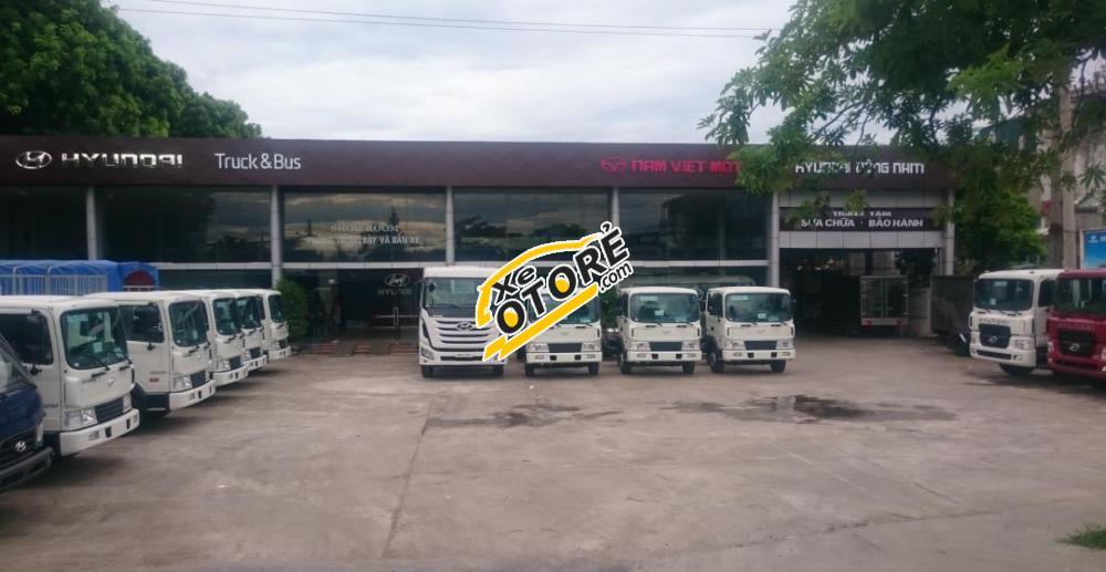 Xe tải Hyundai HD320 thùng bạt, 4 chân máy 340 nhập khẩu, 189 tấn giá thấp nhất