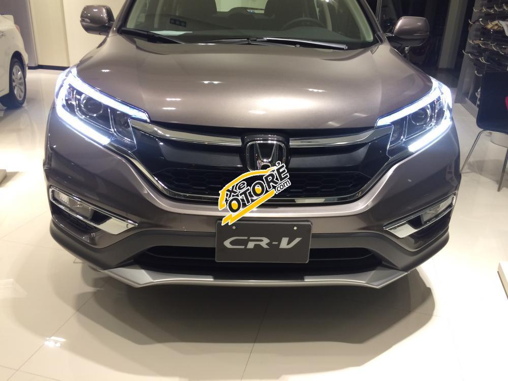 Bình Định - Honda CR V 2.4 TG năm 2016, xe mới giao ngay, giá tốt, bảo hiểm, phụ kiện