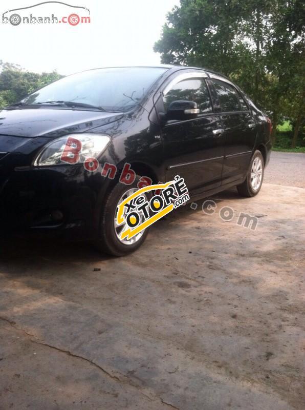 Cần bán Toyota Vios E đời 2009, màu đen