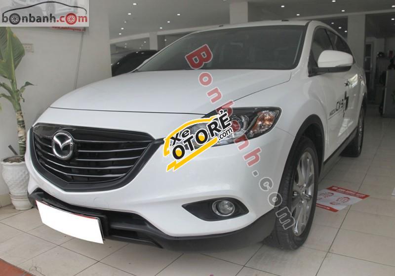 Anh Dũng Auto bán Mazda CX 9 3.7 đời 2014, màu trắng, xe nhập số tự động