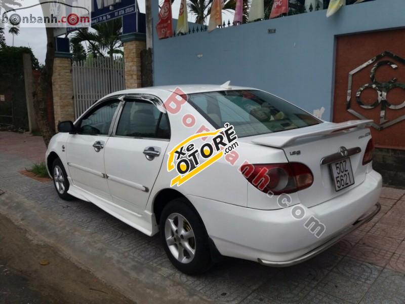 Bán Toyota Corolla altis 1.3MT đời 2002, màu trắng chính chủ giá cạnh tranh