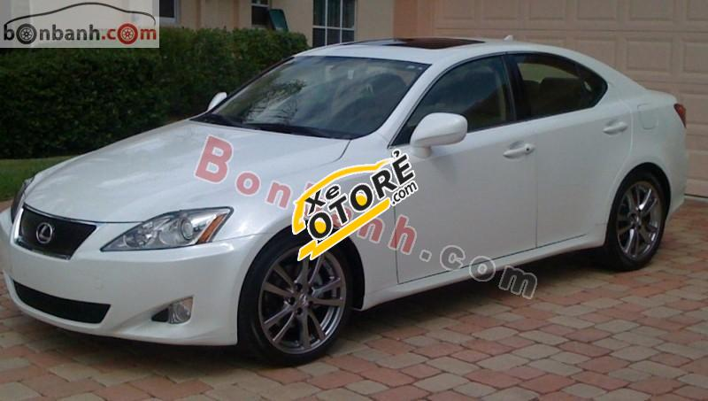 Bán Lexus IS 250 2008, màu trắng, xe nhập chính chủ