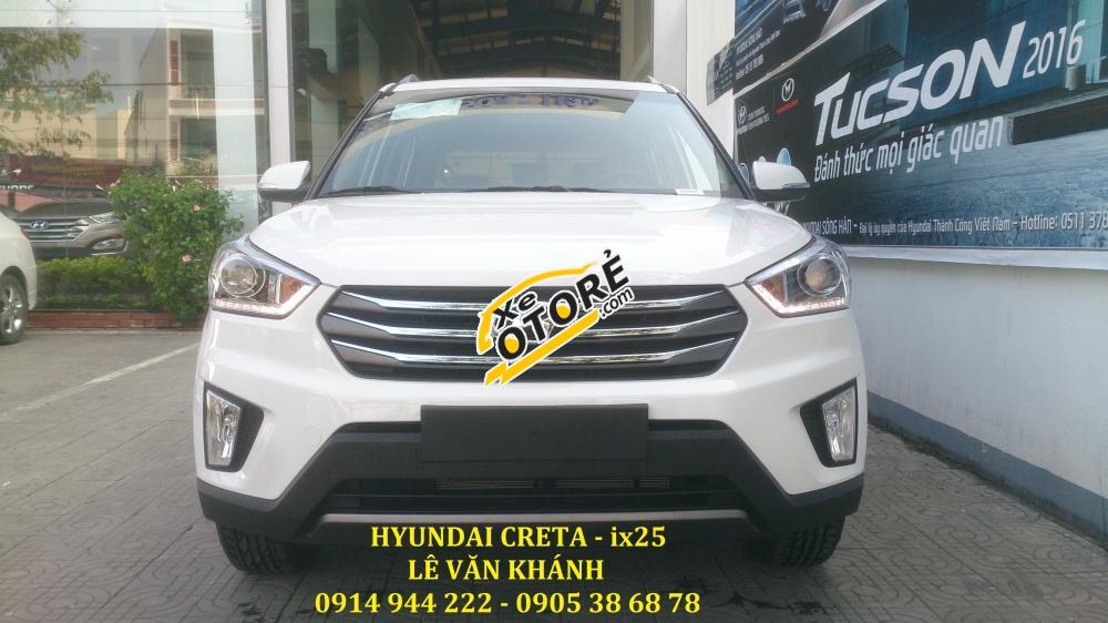 Xe Hyundai Creta IX25 nhập khẩu 2016 tại Đà Nẵng - giảm ngay 20 triệu và tặng phụ kiện khi mua xe