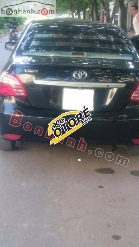 Bán Toyota Vios E năm 2010, màu đen xe gia đình, 386 triệu