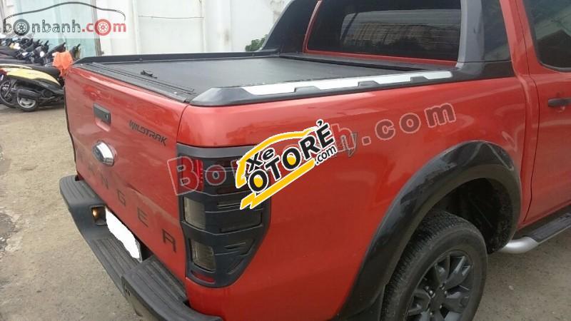 Bán Ford Ranger Wildtrak 3.2 4x4AT đời 2014, màu đỏ, nhập khẩu