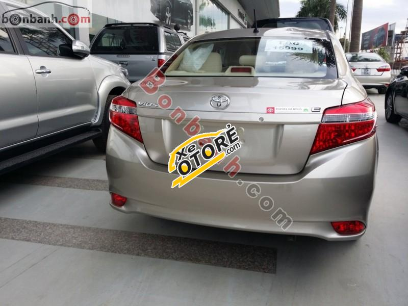 Bán xe Toyota Vios 1.5E đời 2016, màu bạc