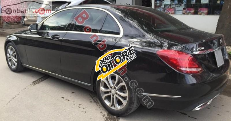Bán Mercedes C200 đời 2015, màu đen, xe nhập như mới