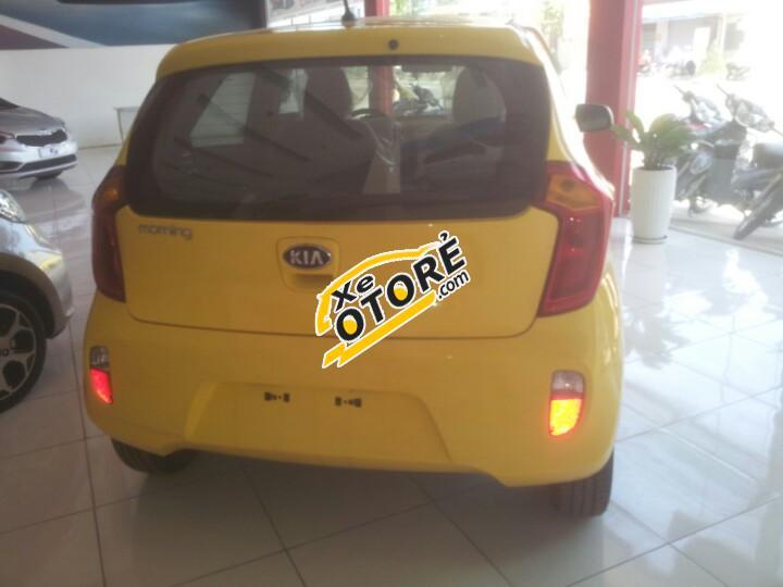 Bán xe Kia Morning 1.0 MT đời 2017, màu trắng Nha Trang