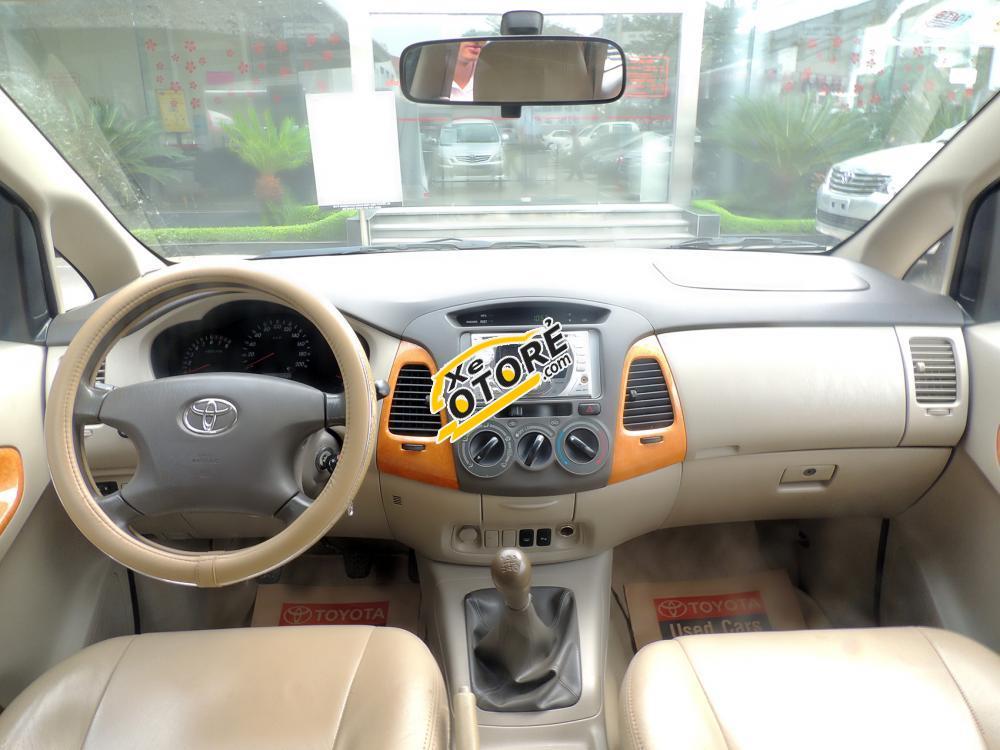 Bán Toyota Innova G đời 2009, màu bạc