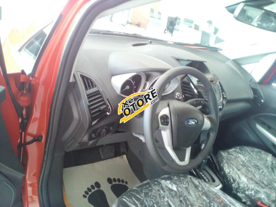 Bán Ford EcoSport Titanium đời 2016, màu đỏ, 625 triệu+ Tặng Pk chính hãng cùng 1 năm BH thân vỏ