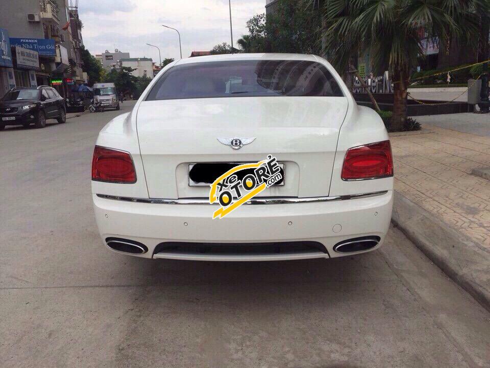 Bán ô tô Bentley Continental Flying Spur sản xuất 2014 màu trắng, giá tốt, xe nhập